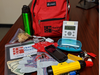 sample fire-ready backpack