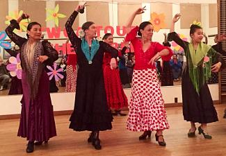 photo of flamenco dancers