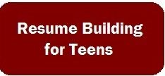 resume building for teens