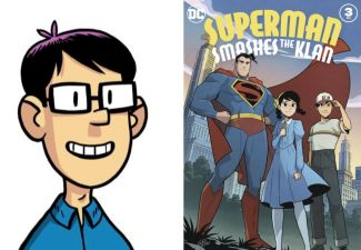 Author Gene Yang and Superman Smashes the Klan!