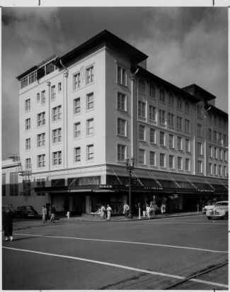 Hink's Department Store  Shattuck at Kittredge 1952