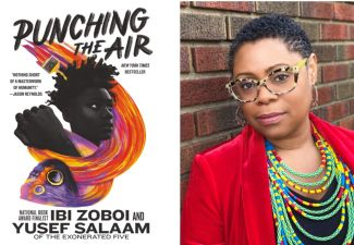 Author Ibi Zoboi and Punching the Air