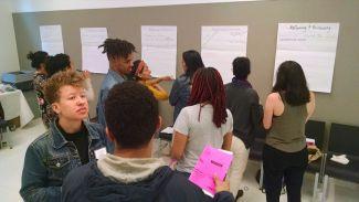 participants in a previous Fanfiction for Change workshop