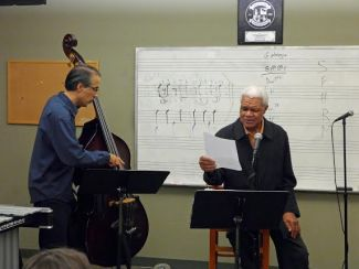 jazz poetry Al Young and bassist John Wiitala