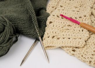 knitting and crocheting needles