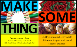 Make Some Thing flyer