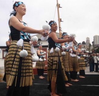 photo of Maori Mo Ake Tonu dancers; used with permission of Tracey Panek of Maori Mo Ake Tonu