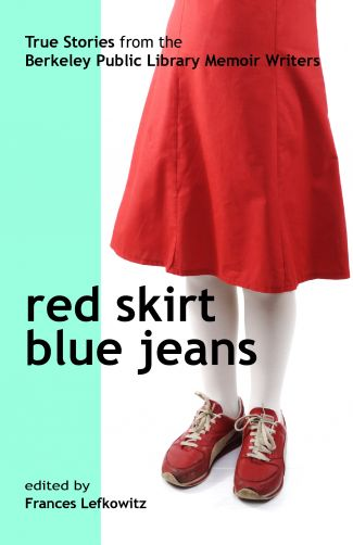 photo book cover red skirt