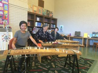 photo of koto players at Peace Day event