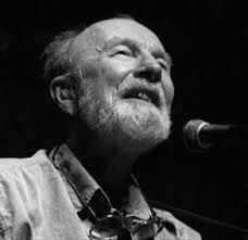 close up of the late, great Mr. Pete Seeger