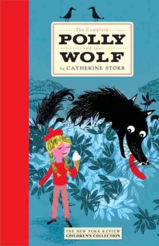 full color reproduction of the cover of the Complete Polly and the Wolf by C. Storr