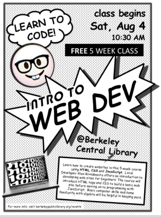 Intro to web development poster