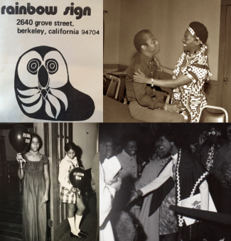 Photo Collage or Rainbow Sign Archival Images