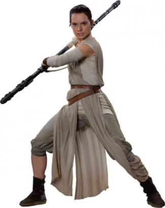 Star Wars character Rey