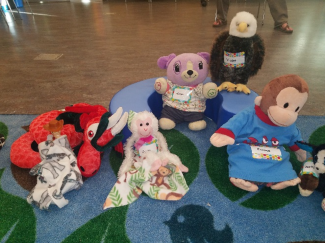 Stuffed Animals Sleepover at the Library