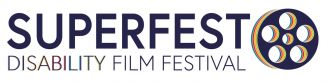 Superfest logo with reel