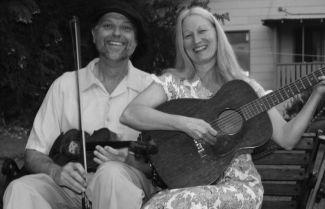 photo of musicians W.B. Reid and Bonnie Zahnow; photo credit Adam Price