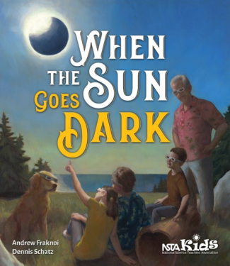 Cover of new book: When the Sun Goes Dark