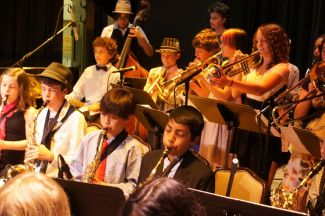 BUSD Jazz band at Yoshi's in 2011