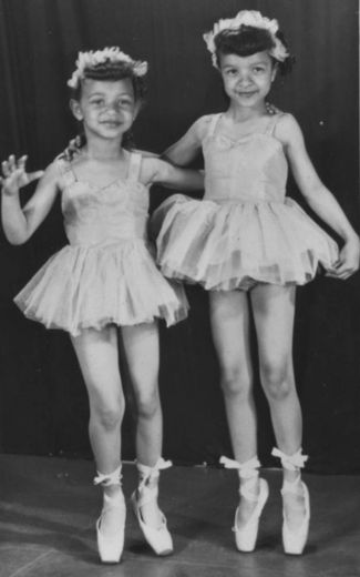 Young Ballerinas Perform Swan Lake 1955