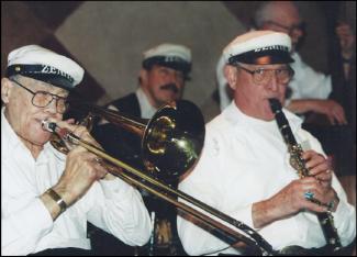Zenith Jazz Band musicians