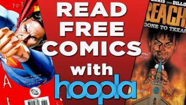 Read Free Comics with Hoopla