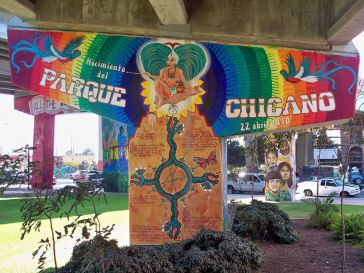 Mural at Chicano Park