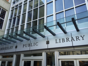 Exterior of Berkeley Public Library Central Library