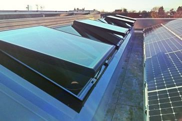 Solar Panels at West Branch