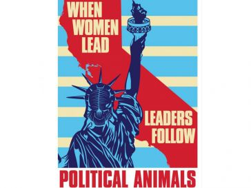 Political Animals movie poster with a Statue of Liberty