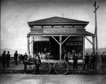 HIstoric photo of Wells Fargo