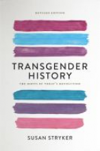Transgender History book cover