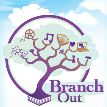 Branch Out Tree graphic
