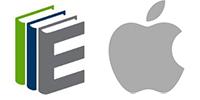 SimplyE logo next to the Apple logo