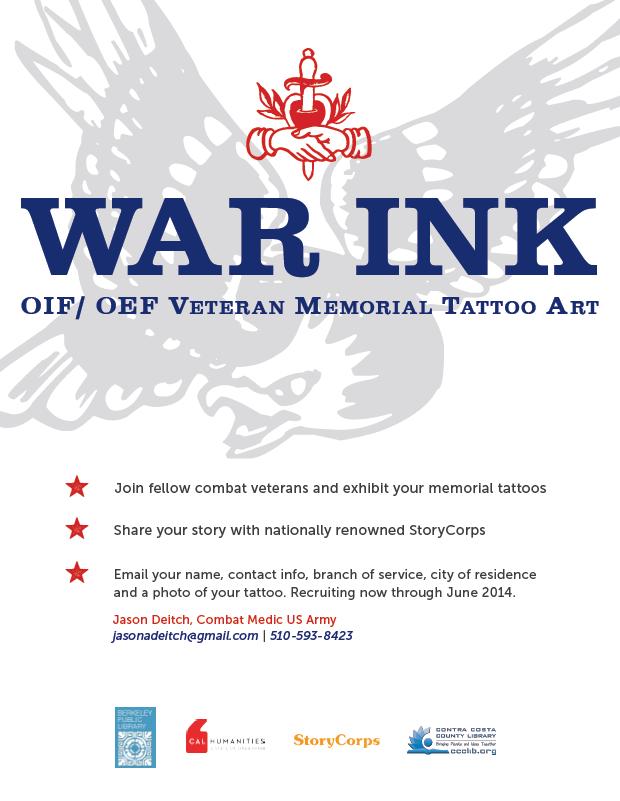 War Ink Poster